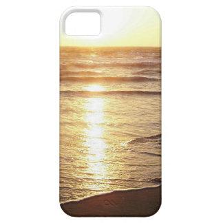 Ozean-Strand-Sonnenuntergang-Kalifornien-Küste iPhone 5 Schutzhüllen