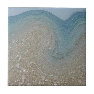Ozean-Strudel Fliese