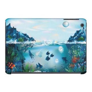Ozean-Szene vier iPad Mini Retina Schalen