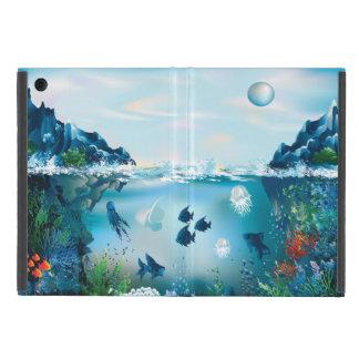 Ozean-Szene vier iPad Mini Etuis