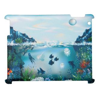 Ozean-Szene vier iPad Hüllen