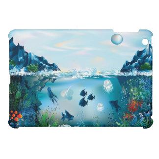 Ozean-Szene vier iPad Mini Hüllen
