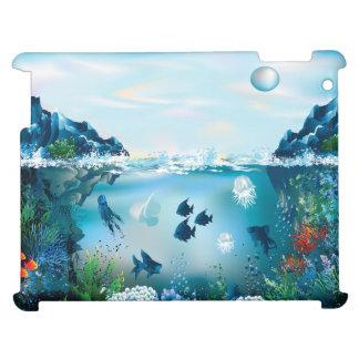 Ozean-Szene vier Hüllen Für iPad