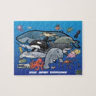 Ozean-Tiere - Puzzle