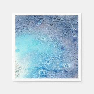 Ozean-Topographie Papierserviette