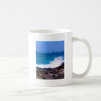 Ozean von Lanzarote Kaffeetasse