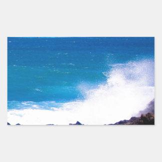 Ozean von Lanzarote Rechteckiger Aufkleber