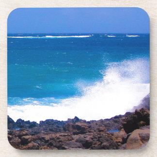 Ozean von Lanzarote Untersetzer