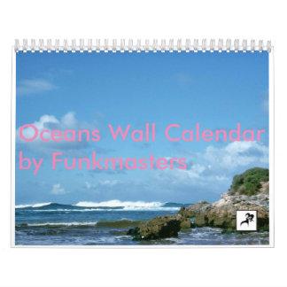Ozean-Wandkalender Abreißkalender