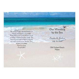 Ozean-Wasser-u. 21,6 X 27,9 Cm Flyer