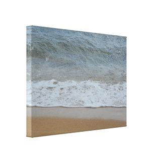 Ozean-Welle auf der Strand-Hawaii-Fotografie Leinwanddruck