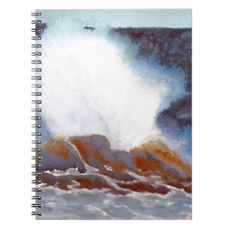 Ozean-Welle Notizblock