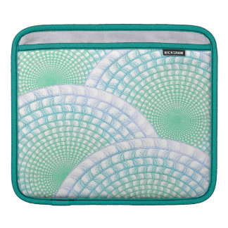 Ozean-Wellen abstrakt iPad Sleeve