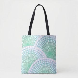 Ozean-Wellen-abstrakte Tasche