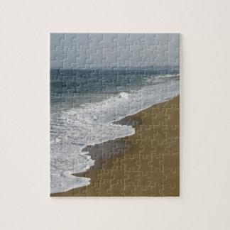 Ozean-Wellen auf dem Strand Puzzle