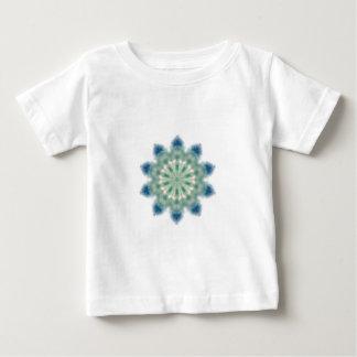 Ozean-Wellen-Kaleidoskop-Kunst 2 Baby T-shirt