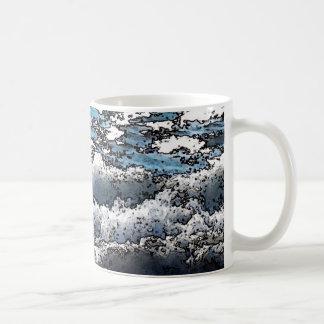 Ozean-Wellen-Klassiker-Tasse Kaffeetasse