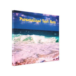 Ozean-Wellen Leinwanddruck