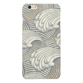 Ozean-Wellen-Muster-alte Japan-Kunst