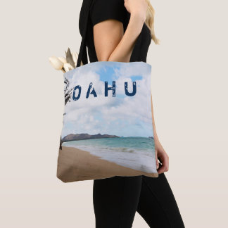 Ozean-Wellen u. Strand Oahus Hawaii Tasche