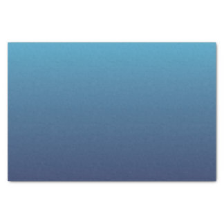 Ozeanblau-Steigungsschablone Seidenpapier