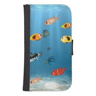 Ozeane der Fische Phone Geldbeutel