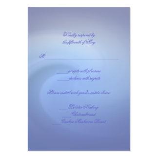 Ozeane von Liebe Wedding Visitenkartenvorlagen