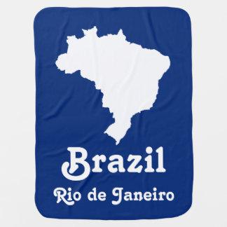 Ozeanisches blaues festliches Brasilien mit Babydecke