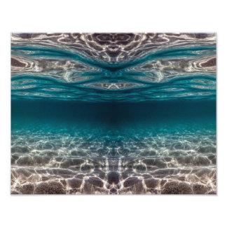 OzeanunterwasserFotodruck Fotodruck