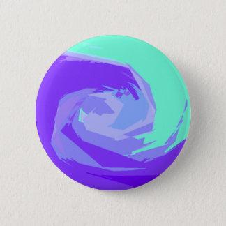 Ozeanwellen Runder Button 5,7 Cm