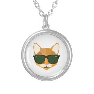 Ozzy coole Katze Hashtags und Versilberte Kette