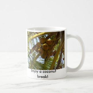 P3190843, genießen einen Kokosnussbruch! Kaffeetasse