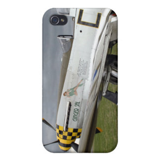 "P51 Mustang ""Ingwer-Salz"" X iPhone 4 Case"