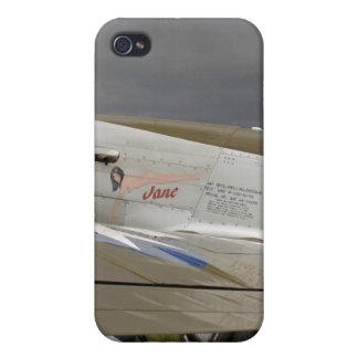 "P51 Mustang ""Jane"" X Etui Fürs iPhone 4"
