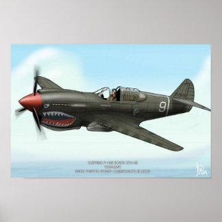 P-40E POSTER