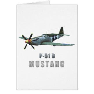 P-51 B Mustang Karte