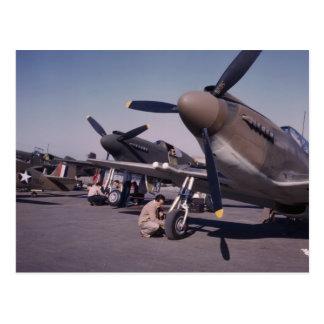 P-51 Mustang, 1942 Postkarte
