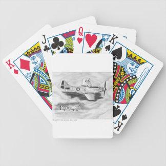 (P-51) Mustang Bicycle Spielkarten