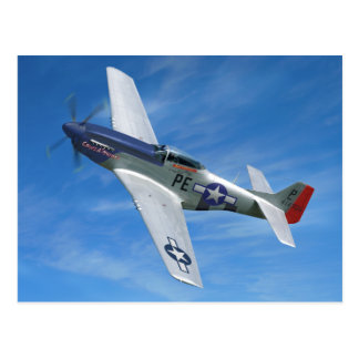 """P-51D """"Cripes A mächtig """" Postkarte"""