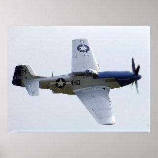 P-51D Mustang-Plakat Poster