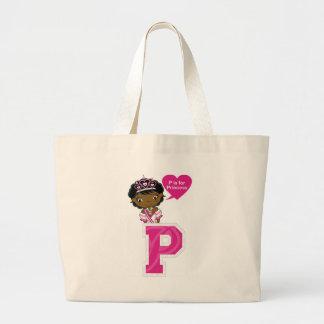 P ist für Prinzessin Jumbo Stoffbeutel