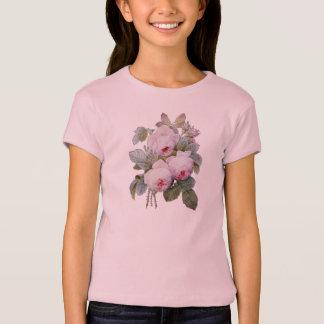 P.J. Redoute Bourbon Rosen-Blumenstrauß Tshirt