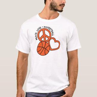 P, L, Basketball, orange T-Shirt