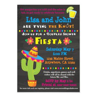 Paar-Brautparty-Fiesta-Einladung 12,7 X 17,8 Cm Einladungskarte