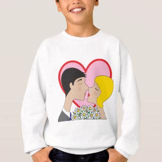 Paar-Küssen Sweatshirt