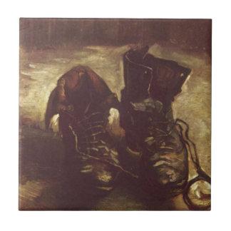 Paar Schuhe Vincents Willem Van Gogh Keramikfliese