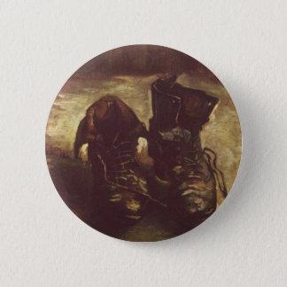 Paar Schuhe Vincents Willem Van Gogh Runder Button 5,7 Cm