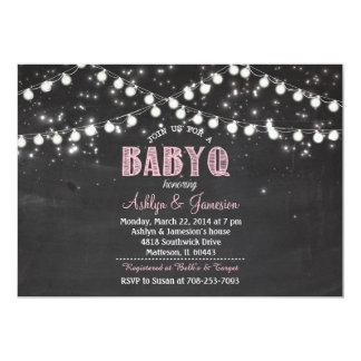 Paare BabyQ GRILLEN Baby-Dusche LightsInvitation 12,7 X 17,8 Cm Einladungskarte