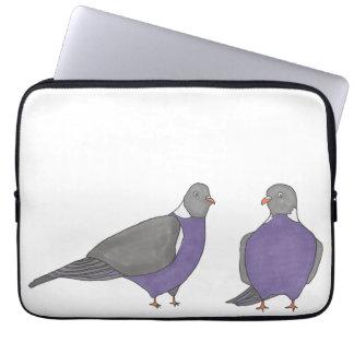 Paare der Tauben-Laptop-Hülse Laptopschutzhülle