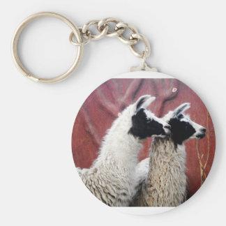 Paare Lamas Schlüsselanhänger